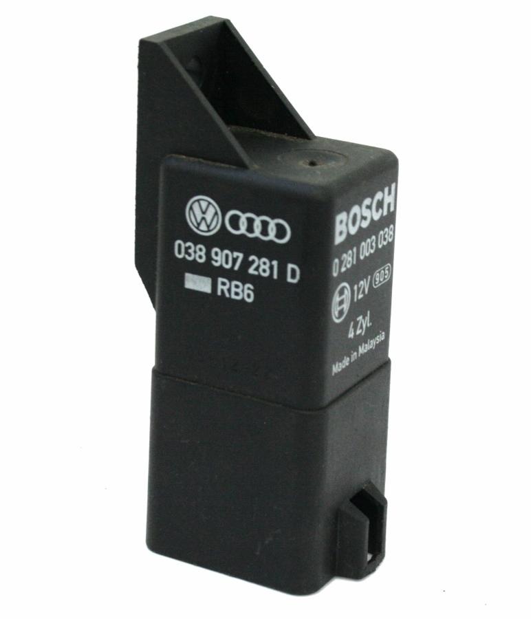 Vw Pat 05 09 B6 Glow Plug Relay Control Bosch 0 281 003 038