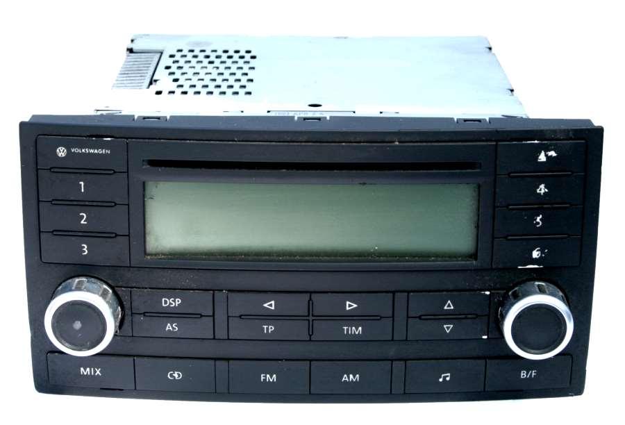 used genuine vw touareg cd radio 7l6 035 195 uk 39 s no 1. Black Bedroom Furniture Sets. Home Design Ideas