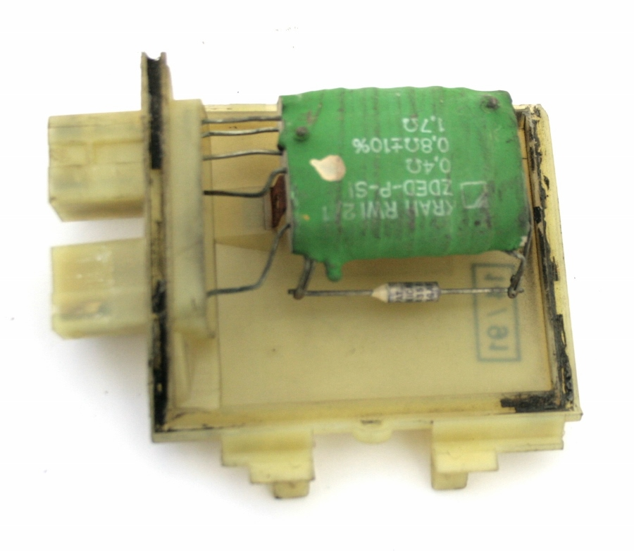 Used genuine vw passat blower motor fan heater resistor for Vw passat blower motor resistor