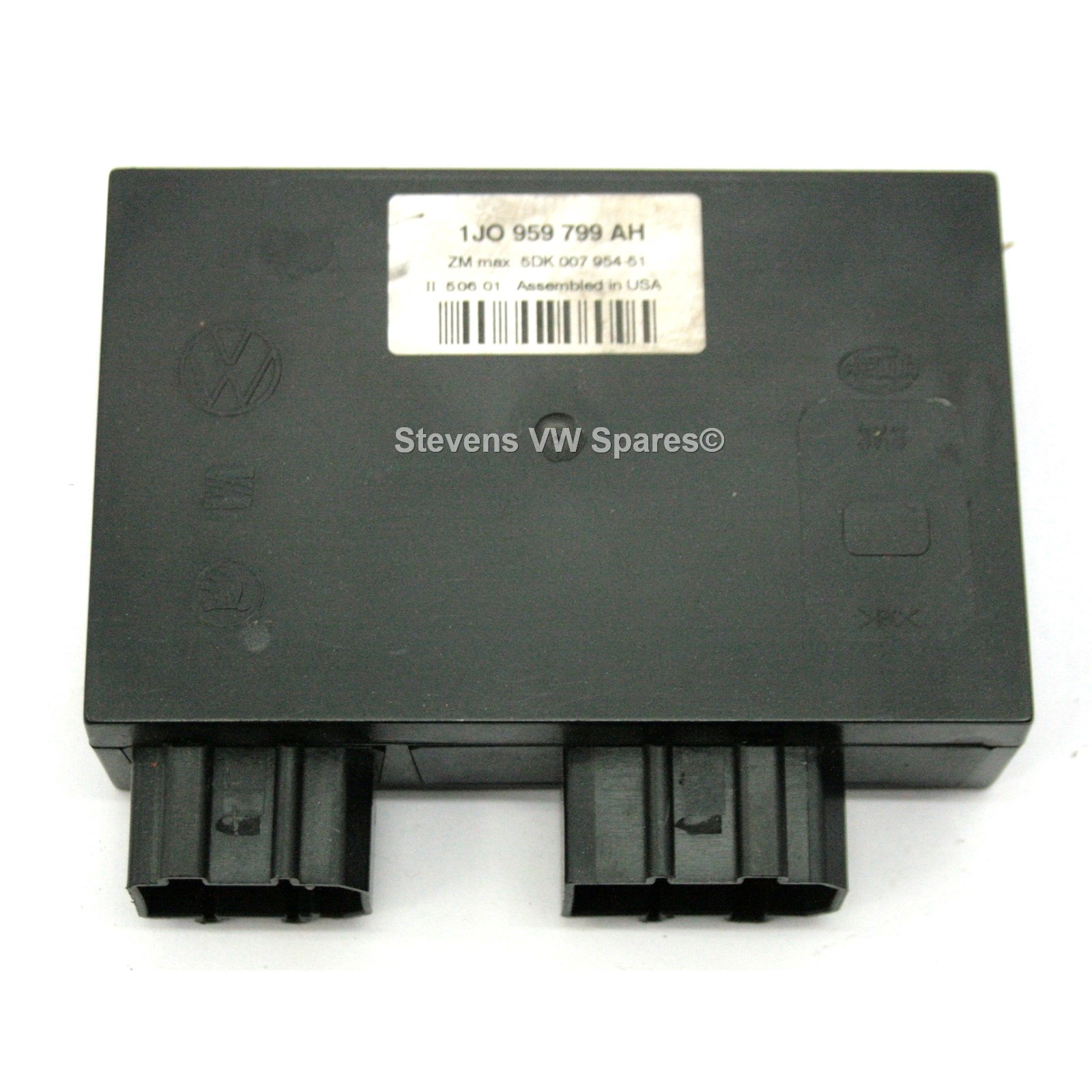used genuine vw golf central locking control module 1j0. Black Bedroom Furniture Sets. Home Design Ideas
