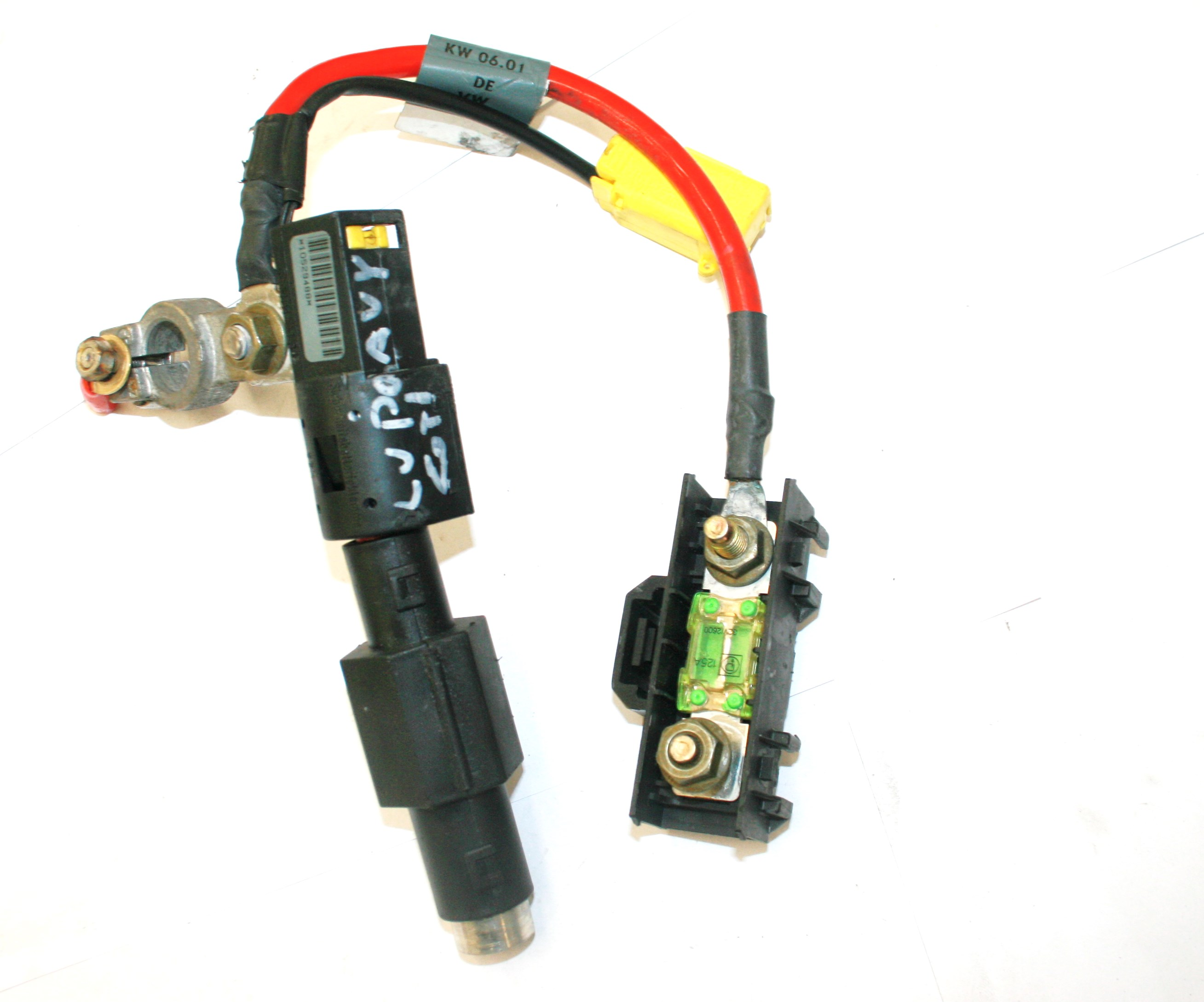 Used Genuine Vw Lupo Adapter Cable Loom Wiring Harness For Battery With Igniter For Wiring