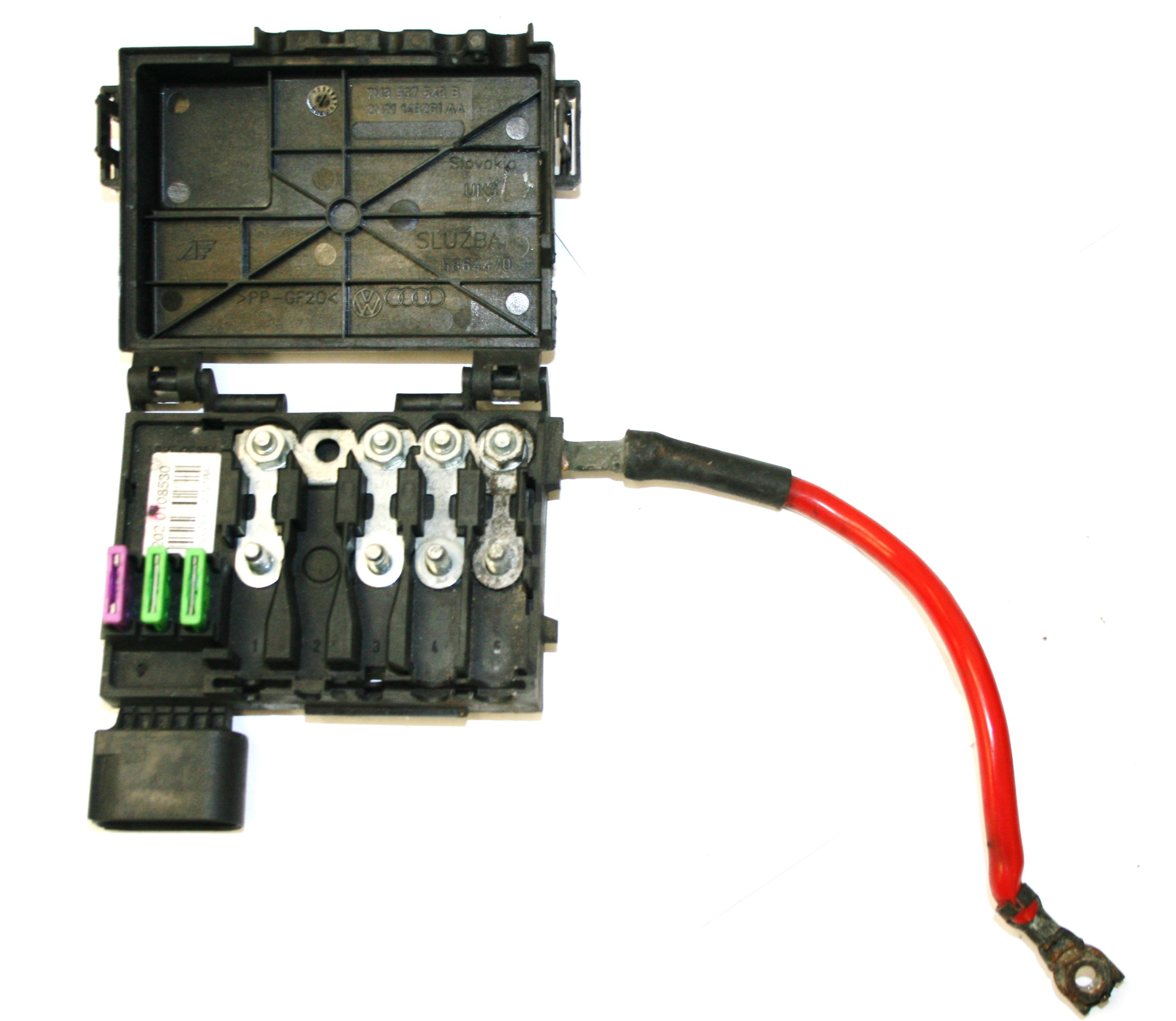 Vw Fuse Box On Top Of Battery Books Wiring Diagram 1964 Used Genuine Sharan Mk2 2002 Jetta