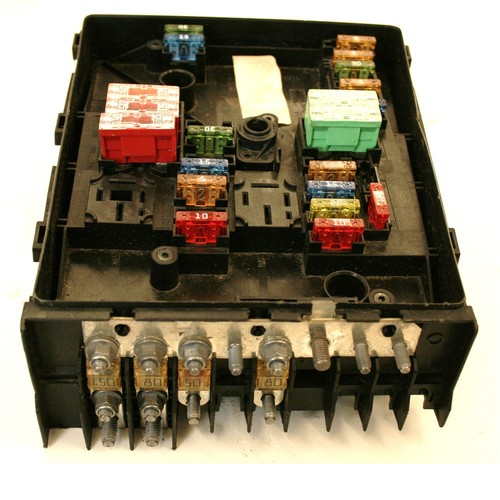 Used genuine vw golf fuse box k uk s no