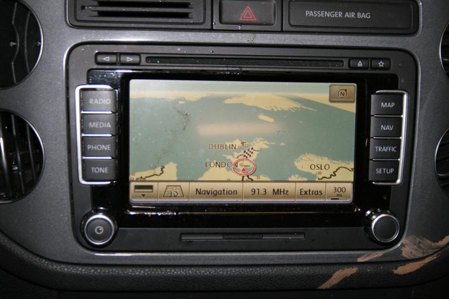 Used Genuine VW Tiguan RNS 510 SSD LED VW Volkswagen
