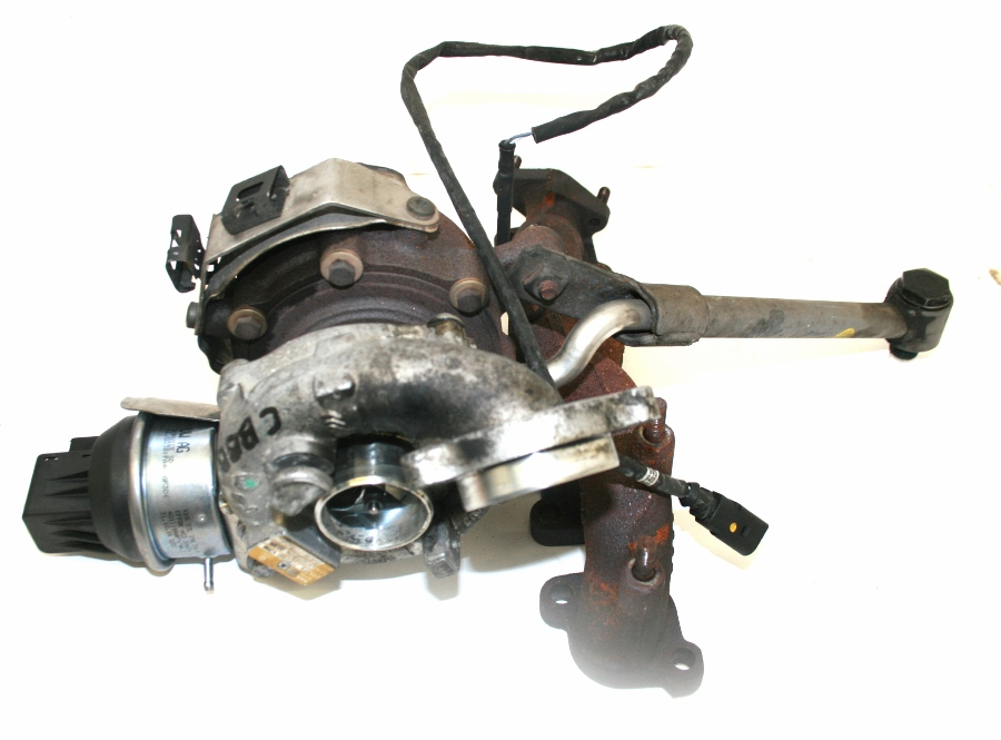 VW PASSAT B6 CBBB 2 0 TDI 170 BHP Turbocharger With Actuator OEM 03L 253  016 G