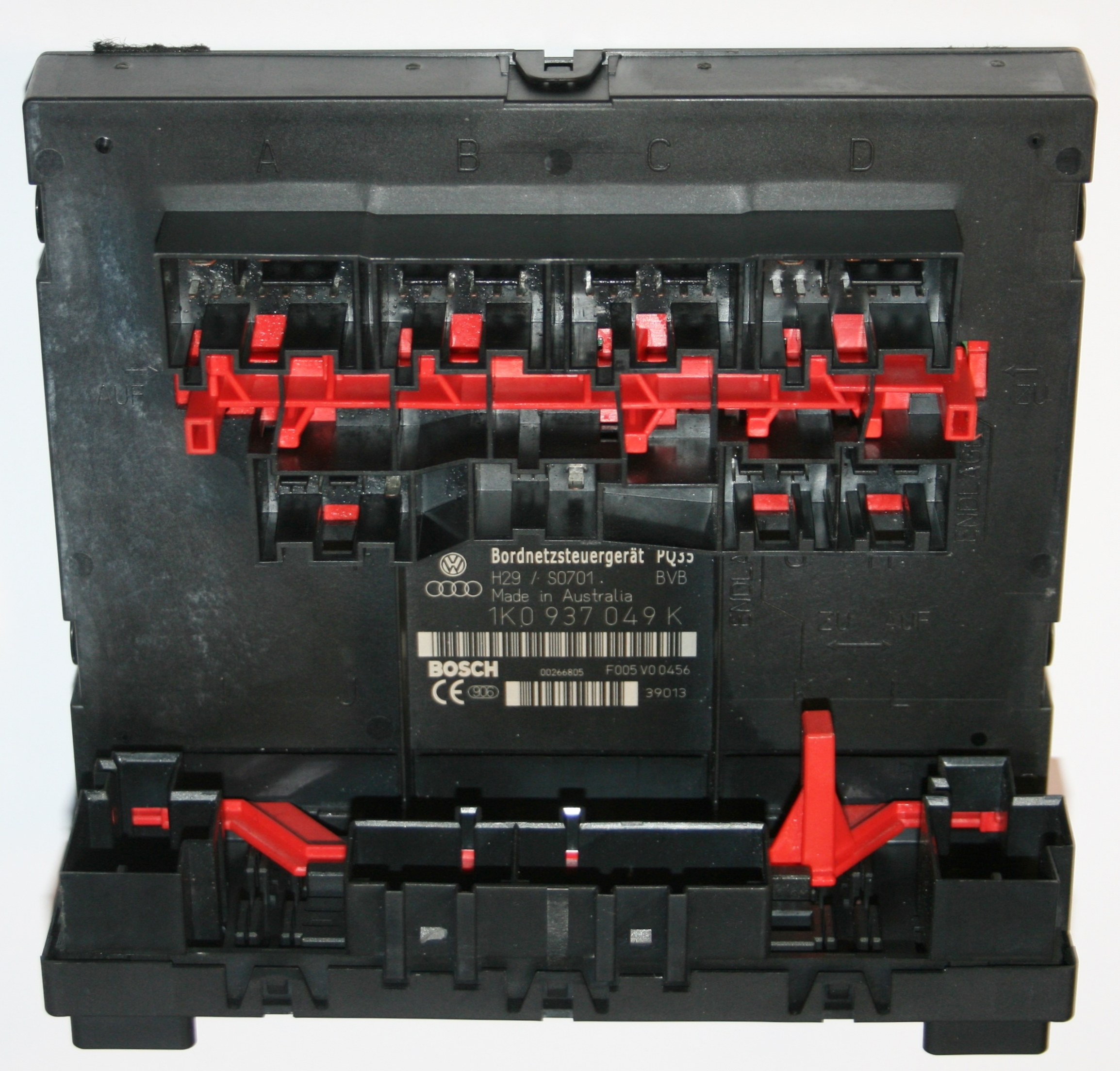 Used Genuine Vw Touran Central Locking Control Module 1k0 937 049 Volkswagen Exterior Light Wiring System Module2899