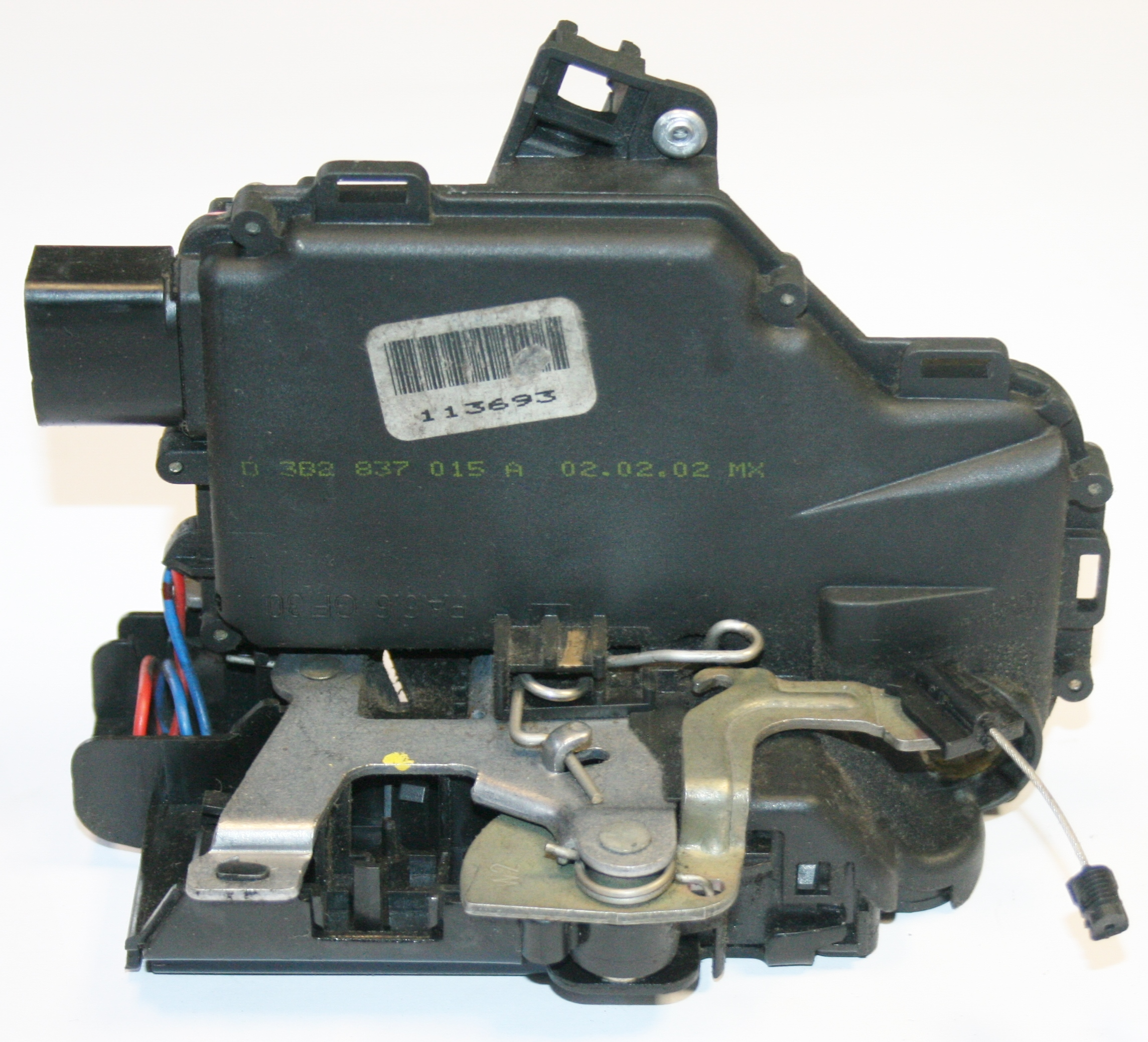 Vw Beetle Body Parts Uk: Used Genuine VW Beetle N/S/F Door Catch Black Type