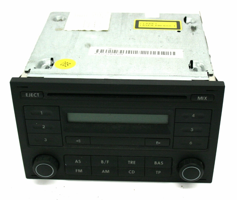 used genuine vw fox cd radio car stereo player rcd 200. Black Bedroom Furniture Sets. Home Design Ideas