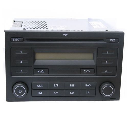 used genuine vw sharan cd player radio mp3 rcd 200. Black Bedroom Furniture Sets. Home Design Ideas